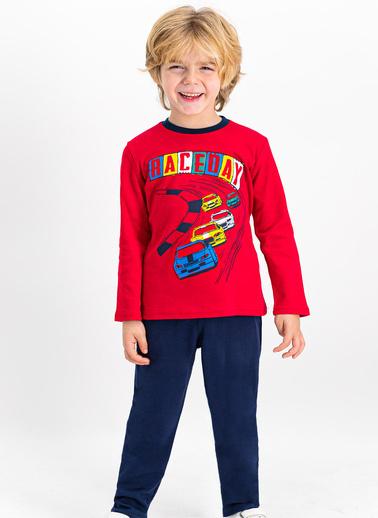 Roly Poly Pijama Takım Kırmızı